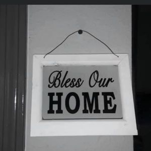 Bless our home decor
